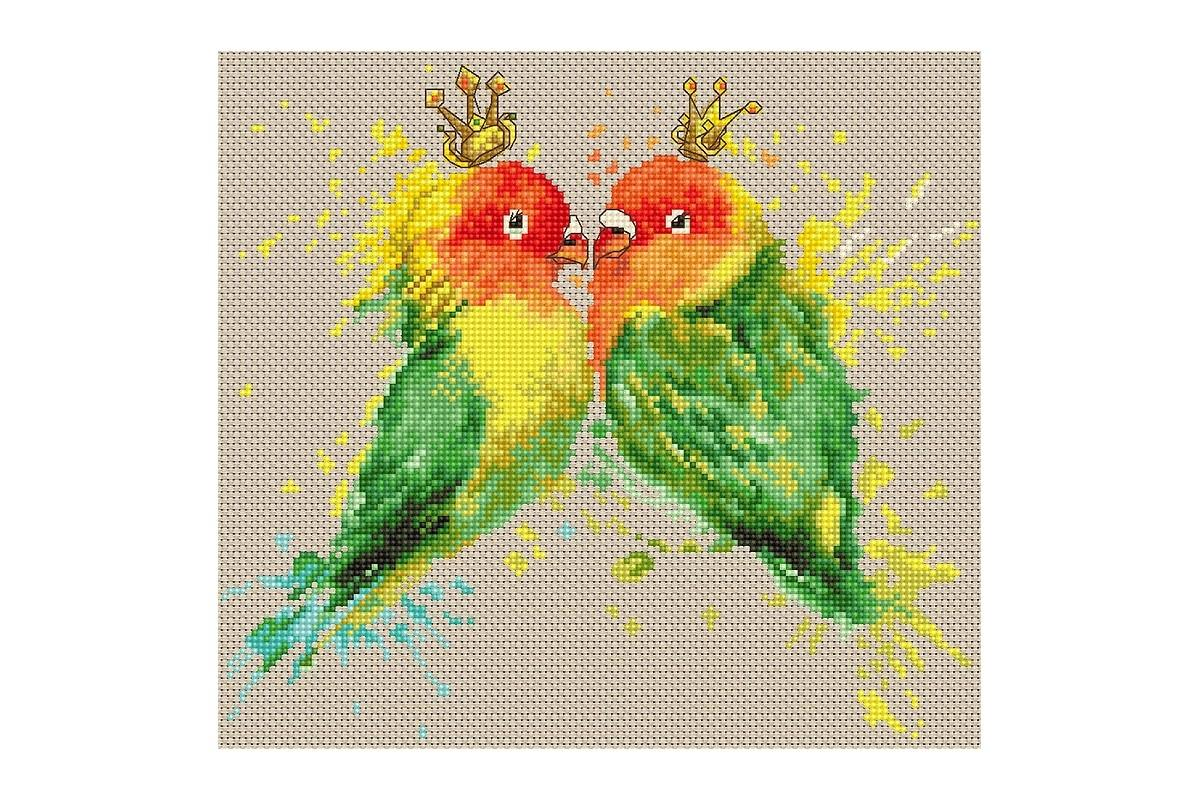 Lucas Counted Cross Stitch Kit The Tangerine