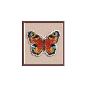 Turtle Make a lovely little Badge with this Oven cross stitch kit
